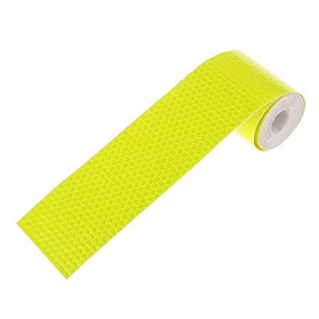 PIXNOR Reflective Safety Warning Conspicuity Tape Film Sticker 3M Green