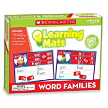 Word Family Learning Mats