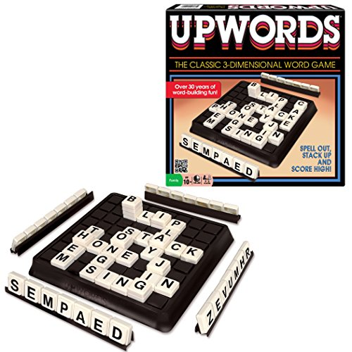 Winning Moves Games Classic Upwords, The Classic 3-Dimensional Word Game (Colors May Vary) by Winning Moves Games