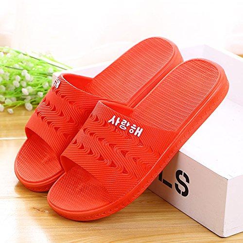 scarlet anti slippers home Summer skid bathroom 41 Rwq1RxOY