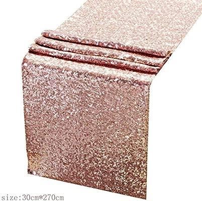 MTCTK Serie De Oro Rosa Globo De Oro Rosa Mantel Desechable ...