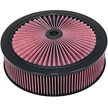 K/&N Filters 66-1401XP X-Stream Air Flow Top with Universal Clamp-On Filter
