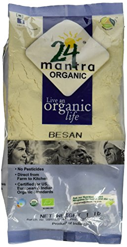 Organic Besan Bengal Garm Flour 1 Lbs