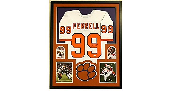 JSA Authentic Clelin Ferrell Clemson Tigers Autographed Signed White Custom Jersey