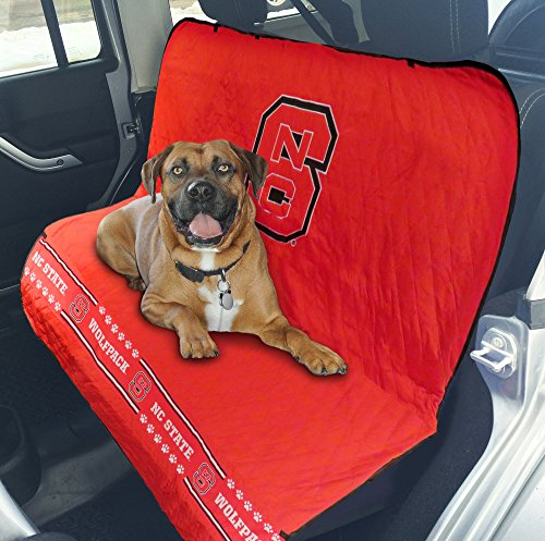 Pets First Collegiate North Carolina State Wolfpack Pet Car Seat Cover