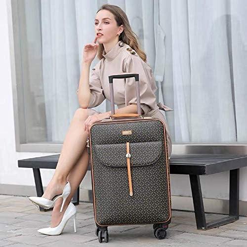 Internationale Mode Luxus 16/20/24 Zoll - Borsa a mano con rotelle, Marke Frau Reisekoffer-Gepäck und Handtasche_16