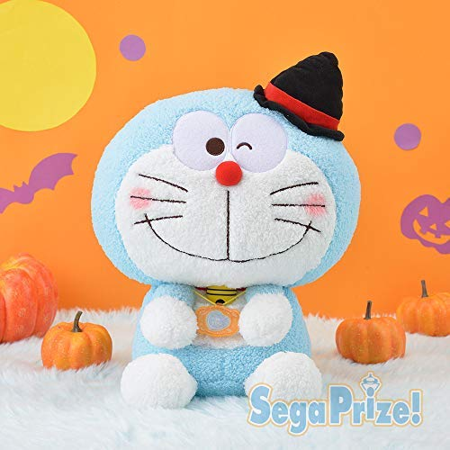 Sega Doraemon & You mega Jumbo Halloween Stuffed Toy 35cm Kawaii Japan -