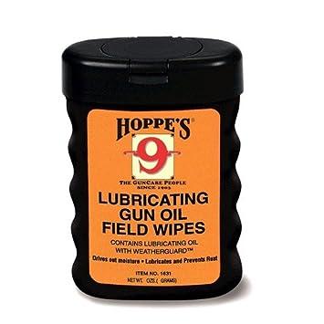 Hoppes 50 x 5 x 7,62 cm un aceite lubricante campo toallitas avutarda/