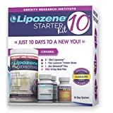 Lipozän 10 Starter Kit - Complete Diet and Nutrition Plan Including Protein Shake, Lipozene Appetite Suppressants, Meal Plan, and MetaboUP Thermogenic Metabolic Booster