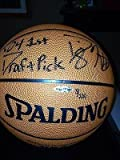 UDA Dwight Howard spading autographed signed rookie basketball #3/100!
