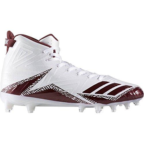 プラットフォームデッドロックはっきりしない(アディダス) adidas メンズ サッカー シューズ?靴 adidas Freak X Carbon Mid Football Cleats [並行輸入品]