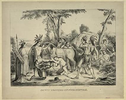john smith and powhatan