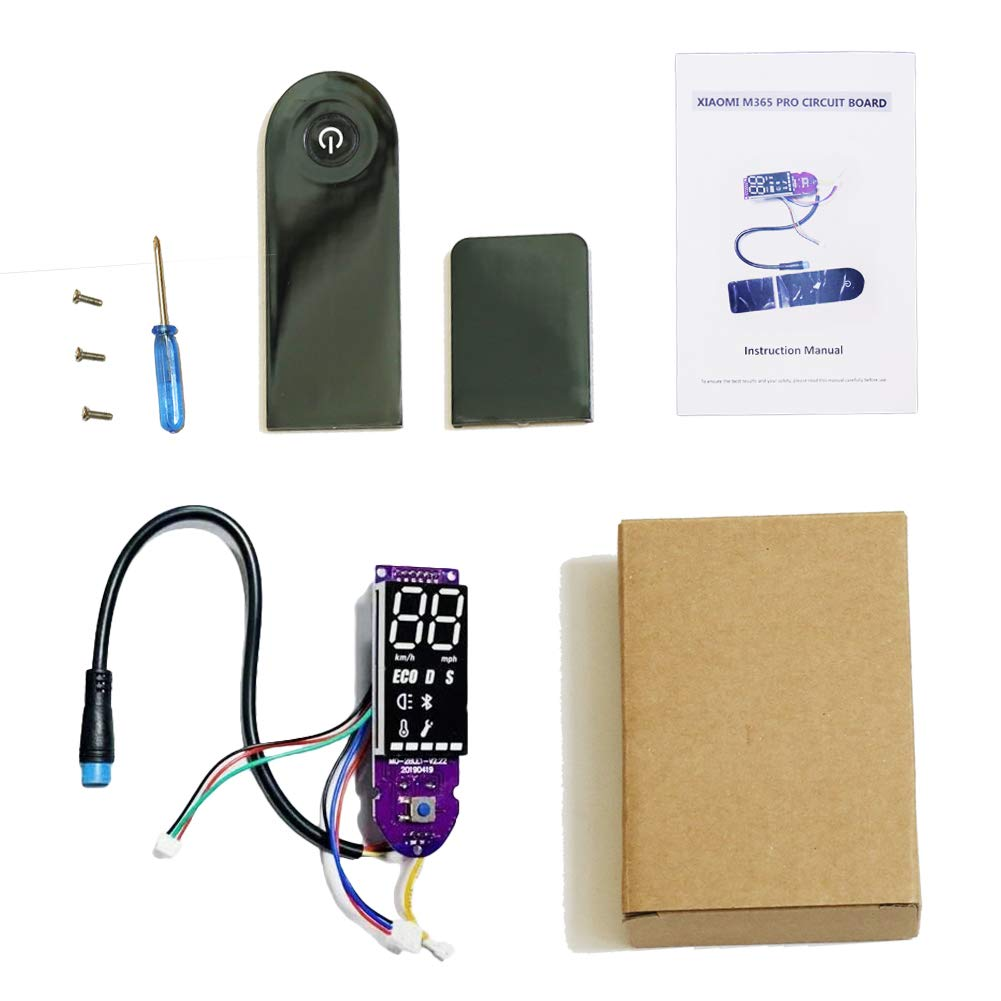 ZYHZ Upgrade Version Practical Screen Cover Bluetooth Circuit Board for Xiaomi Electric Scooter Mijia M365/ M365 Pro Scooter Parts by ZYHZ
