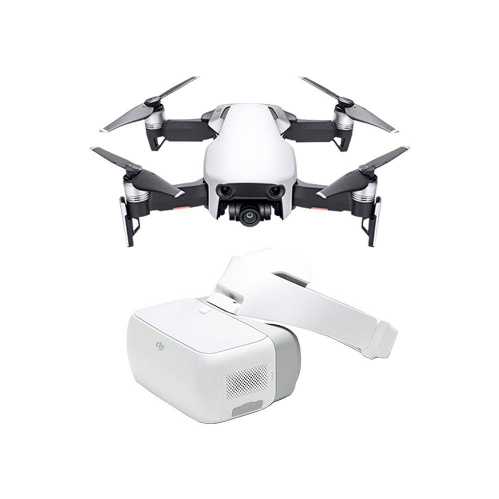 DJI Mavic Air Fly More Combo - Drohne mit 4K Full-HD Videokamera inkl. Fernsteuerung I 32 Megapixel Bilderqualität und bis 4 km ReichWeiße - Weißszlig; Weiß