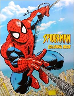 Amazon.com: Spiderman Coloring Book: Coloring Book for Kids and ...