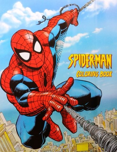 Spiderman Coloring Book: Coloring Book for Kids and Adults, Activity Book, Great Starter Book for Children (Coloring Book for Adults Relaxation and for Kids Ages 4-12)]()