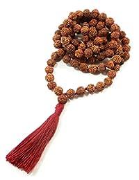 Rudraksha Meditation Mala 8mm 108 Beads
