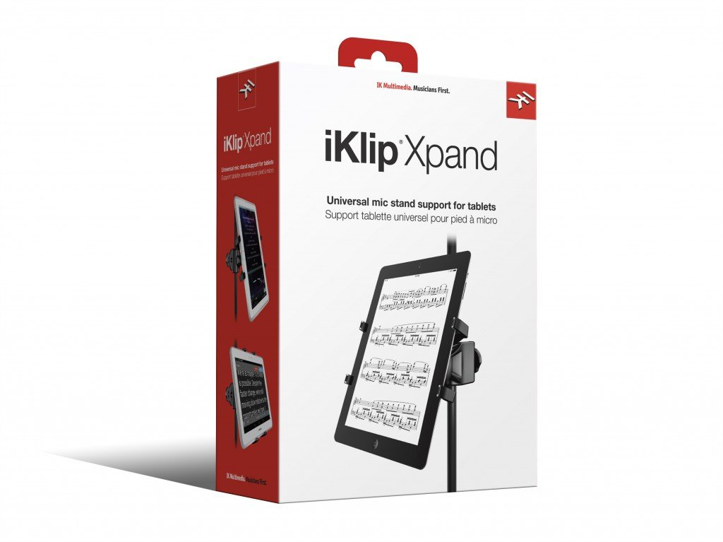 IK Multimedia iKlip Xpand universal mic stand support for iPad and tablets by IK Multimedia (Image #11)
