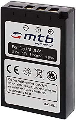Batería BLS-1 para Olympus E-400, E-410, E-420, E-600, E-620, E-P2 ...