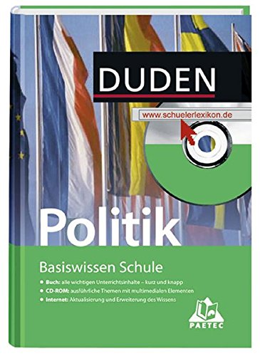 Politik: 7. Klasse bis Abitur (Basiswissen Schule)