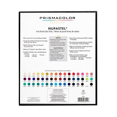 Prismacolor 27051 Premier NuPastel Firm Pastel Color Sticks, Box of 48 Color Sticks by Prismacolor (Image #11)