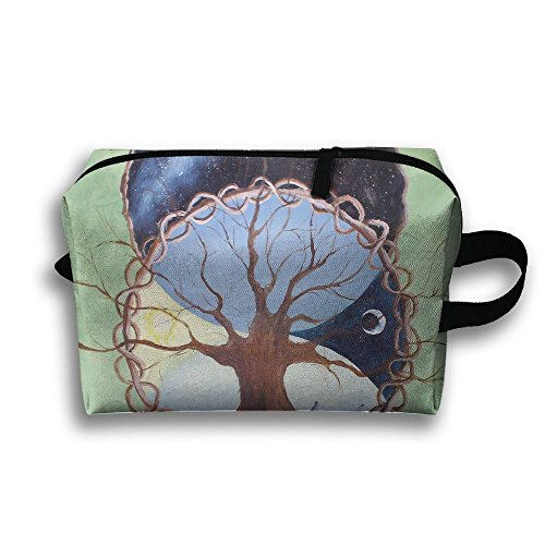 Tree Of Life Toiletry Bag For Women Cosmetic Bag Tote Shopping Bag Premium  Accessories 59fb7ac61dd88