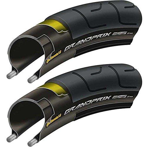 2x Continental GrandPrix Falt28 | 23-622 700x23C Fahrrad Reifen Rennrad schwarz
