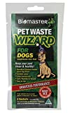 #5: Biomaster Pet Waste Wizard Digester Sachets, Beneficial Bacteria to Break Down Waste, (100% Natural Concentrate, 2 Sachets)