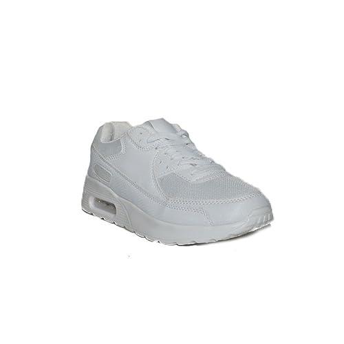 Sport - Sport ALLWHITE GT-45 Zapatillas Deportivas de Mujer Unisex Blancas Baratas - Blanco, 39: Amazon.es: Zapatos y complementos