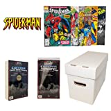 SPIDERMAN Comic Book Collecting Starter Set Kit with Box, Boards, Bags, and Comics
