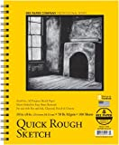 Bee Paper Quick Rough Sketch Pad, 8-Inch by 10-Inch (6075RS100-810)