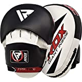 RDX Boxing Pads Hook & Jab Pads MMA Target Focus Punching Mitts Thai Strike Kick Shield