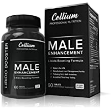 Male Enhancement Pills - ENHANCE Libido, PROMOTE Blood Flow & BOOST Energy - All Natural Supplement, INCREASES Stamina, Performance & Testosterone
