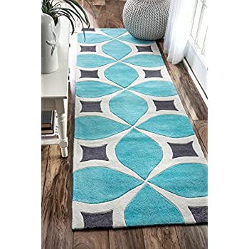 Amazon Com Nuloom Bhbc55d Hand Tufted Gabriela Runner Rug