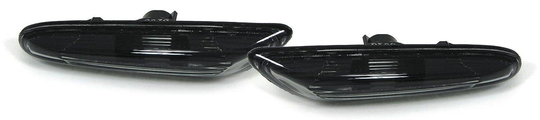 carparts en ligne GmbH 28512set pages clignotant Smoke Noir Paire