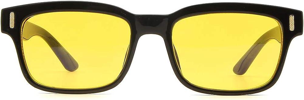 Cyxus Gafas Anti-luz Azul, Gafas Anti Fatiga para PC, Pantallas Electrónicas - Proteja Sus Ojos de la Luz Azul, Modelos de Moda, Clásicos para Negocios, Casual