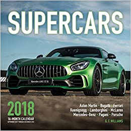 Supercars Month Calendar Includes September Through