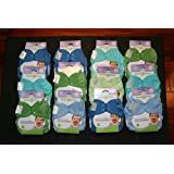 Bumgenius Freetime Cloth Diapers 6 Pack Boys Colors Snaps by Freetime