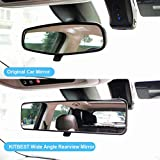 Kitbest Rear View Mirror, Convex Rearview Mirror