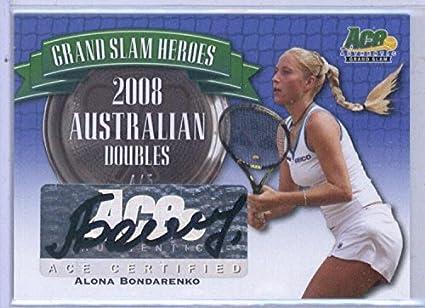 277532e8b5337 Amazon.com: 2013 Ace Grand Slam Heroes Auto Blue #GSHAB2 Alona ...