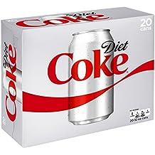 Diet Coke, 12 fl oz, 20 Pack