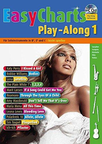 Easy Charts Play-Along: Die größten Hits spielerisch leicht gesetzt. Band 1. C/Eb/Bb-Instrument. Spielbuch mit CD. (Music Factory)
