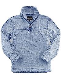 Adult Super Soft 1/4 Zip Sherpa Pullover