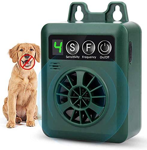 FcrenHuang Anti Barking Device, Bark Control Device with 4 Adjustable Ultrasonic Volume Levels, Automatic Ultrasonic Dog…