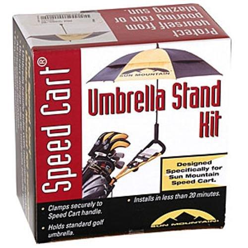 Sun Mountain Speed Cart Umbrella Holder Kit Black