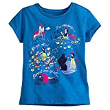 Disney Snow White and the Seven Dwarfs Tee for Girls Size L (10/12) Blue