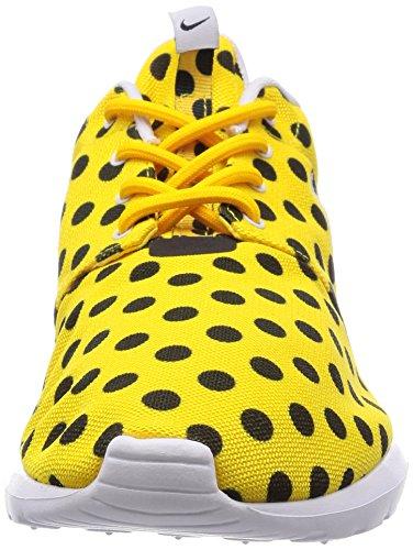 Nike Roshe NM QS, Scarpe da Corsa Uomo Giallo / Bianco / Nero (Squadra Di College Mais / Bianco-nero)