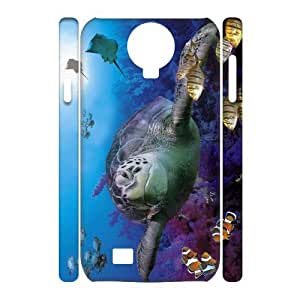 TOSOUL Cell phone Cases Tortoise Hard 3D Case For Samsung Galaxy S4 i9500