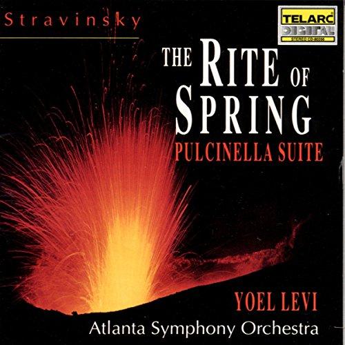 Price comparison product image Stravinsky: The Rite of Spring/Pulcinella Suite