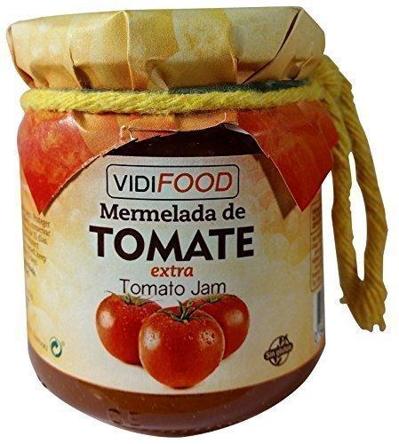 Mermelada Extra Artesanal de Tomate - 210 g - Procedente de España - Casera, de